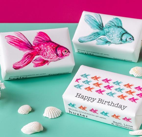 DMD Packaging huXter soaps